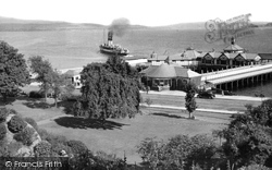 Dunoon, The Pier From The Park c.1955