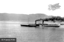 The Steamer 'columba' 1904, Dunoon