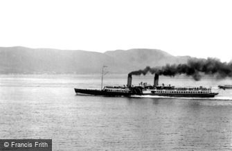 Dunoon, the steamer 'Columba' 1904