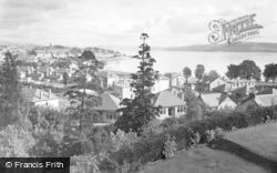 Dunoon, View From Cowal House c.1955