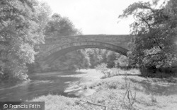 Dunscore, Dalgonar Bridge  1955