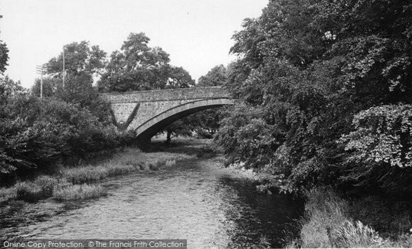 Photo of Dunscore, Dalgonar Bridge c.1955