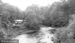 Dunscore, Dalgonar Mill c.1955