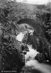 Dunscore, Routin Bridge c.1955