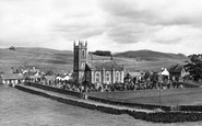 Dunscore, the Church c1955