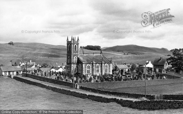 Photo of Dunscore, the Church c1955