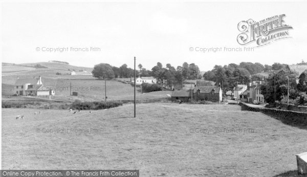 Photo of Dunscore, Throughgate c.1955