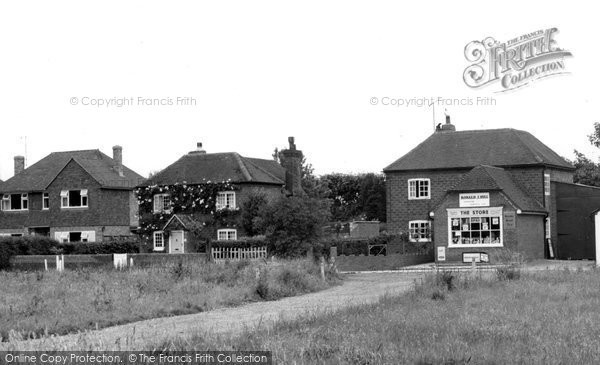 Photo of Dunsfold, Village Stores c1965