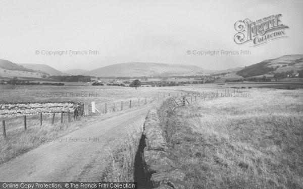 Photo of Dunsop Bridge, Chipping Road c.1960