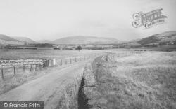 Chipping Road c.1960, Dunsop Bridge