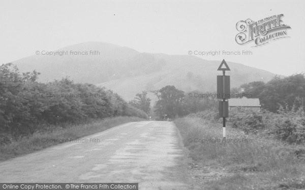 Photo of Dunsop Bridge, Lancaster Road c.1955