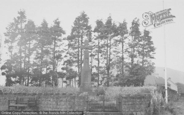 Photo of Dunsop Bridge, Memorial Corner c.1955