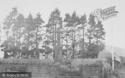 Memorial Corner c.1955, Dunsop Bridge
