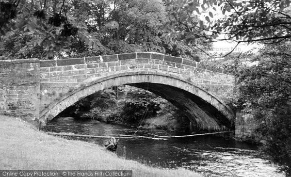 Photo of Dunsop Bridge, The Bridge c.1960