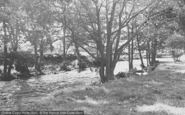 Photo of Dunsop Bridge, The River c.1960