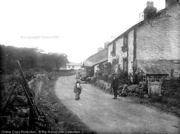Photo of Dunsop Bridge, The Village 1921
