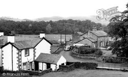 The Village c.1955, Dunsop Bridge