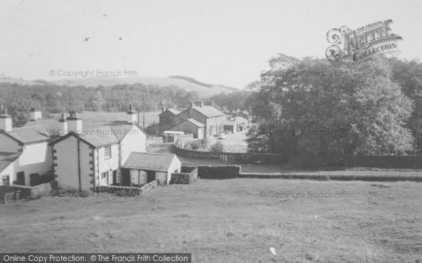 Photo of Dunsop Bridge, The Village c.1960