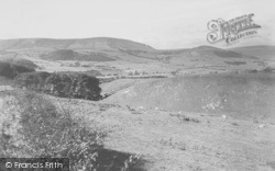 View From Hall Hill c.1960, Dunsop Bridge