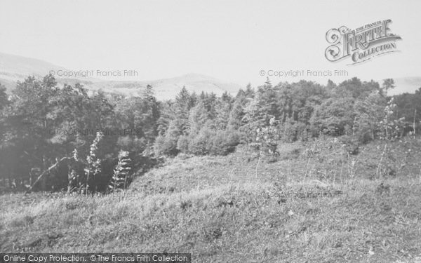 Photo of Dunsop Bridge, View From Hall Hill c.1960