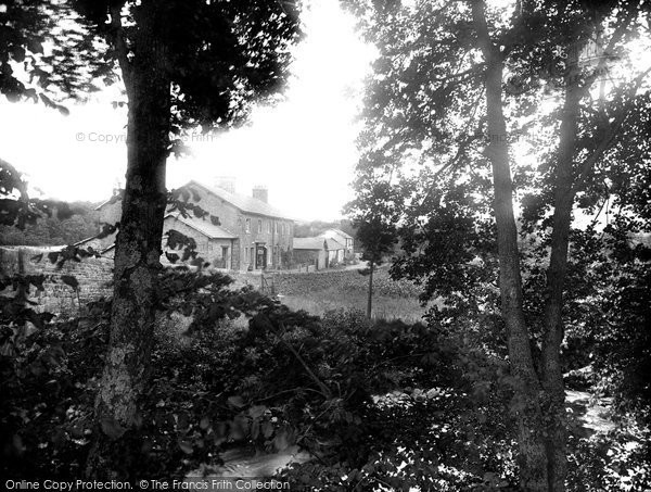 Photo of Dunsop Bridge, Village 1921