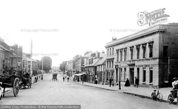 Photo of Dunstable, High Street 1897