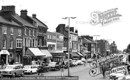Photo of Dunstable, High Street 1964