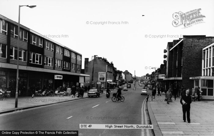 Photo of Dunstable, High Street North c1965