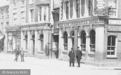 Dunstable, High Street, People 1898