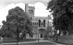 Dunstable, Priory Church 1958