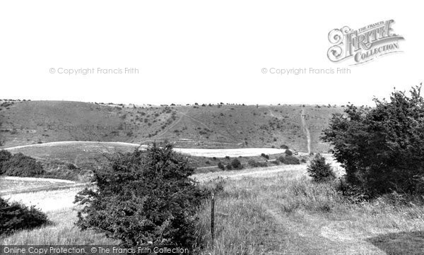 Photo of Dunstable, the Downs c1960