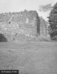 Dunstaffnage Castle, 1949