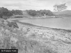 Dunstaffnage Castle, And Dunstaffnage Bay 1949