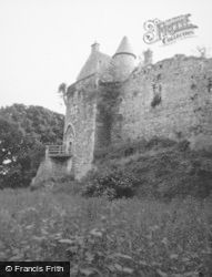 Dunstaffnage Castle, Gatehouse 1955