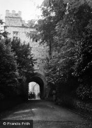 Dunster, Castle 1950