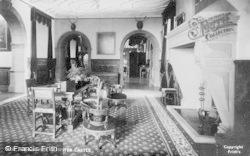 Dunster, Castle, Entrance Hall 1892