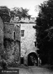 Dunster, Castle Gatehouse 1950