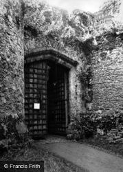 Dunster, Castle Gateway 1950