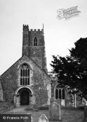 Dunster, Church 1950
