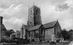 Dunster, Church Of St George c.1883