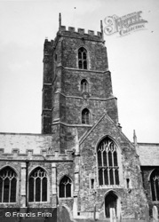 Dunster, Church Tower 1950