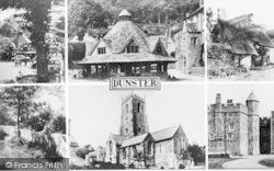 Dunster, Composite c.1965