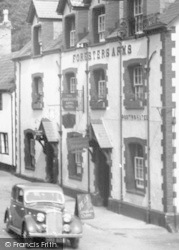 Dunster, Foresters Arms 1938