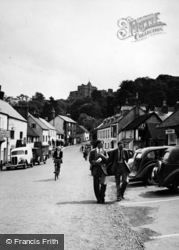 Dunster, High Street 1950