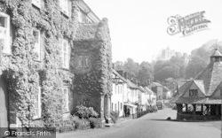 Dunster, High Street c.1960
