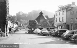 Dunster, High Street c.1965