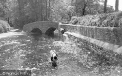 Dunster, Pack Horse Bridge c.1960
