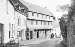 Dunster, The Nunnery c.1955