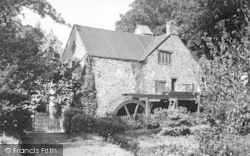 Dunster, The Old Mill c.1955