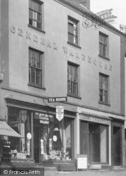 Dunster, The Yarn Market Tea Rooms 1938